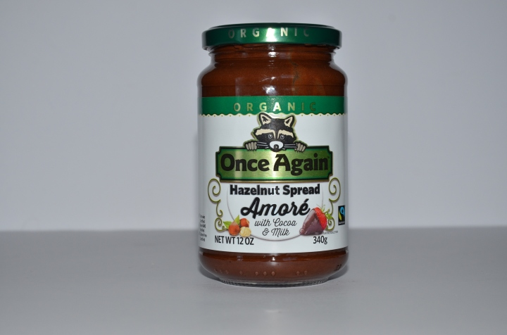 New Organic Hazelnut Spread – Once Again Nut Butter Amoré
