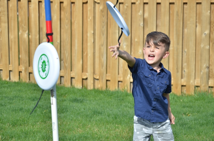Outdoor fun with Spider DiscGames