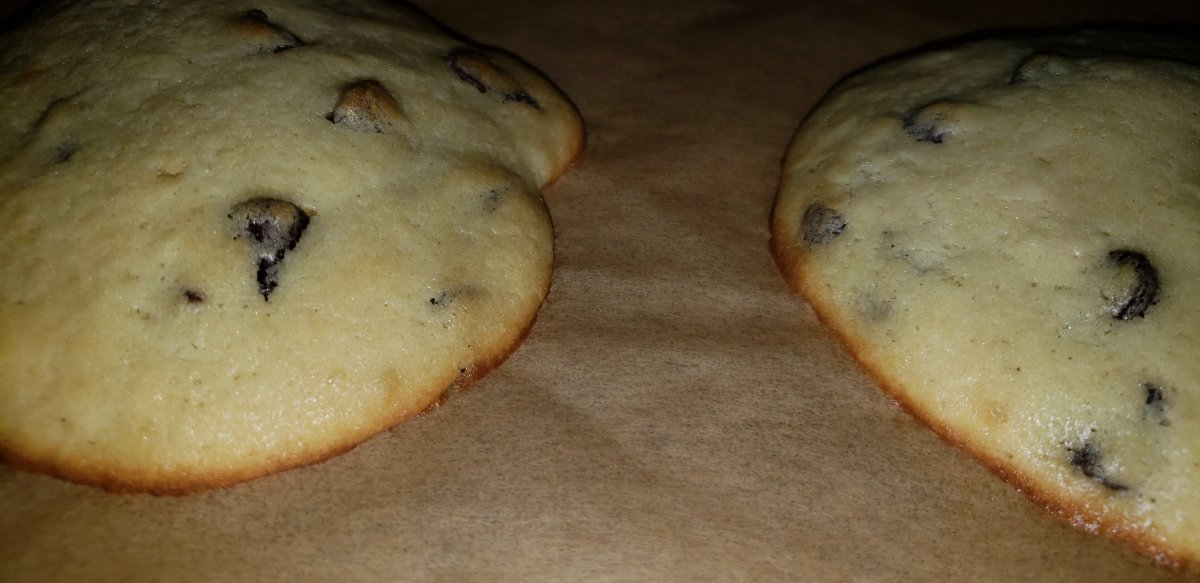 My Twist On Panera's Chocolate Chip Muffin Tops