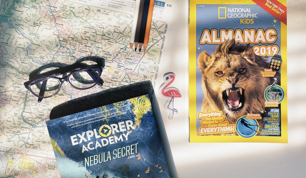National Geographic Kids Almanac 2019 & Explorer Academy: The Nebula Secret |Book Review