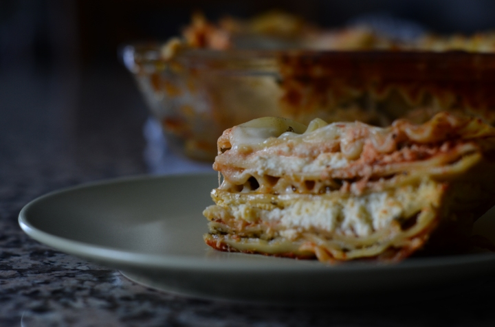 Happy World Pasta Day: Lasagna with a twist