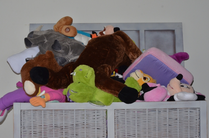 How do you organize your kids stuffed animals?
