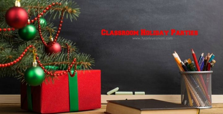 Classroom Holiday Parties + GoodieBags